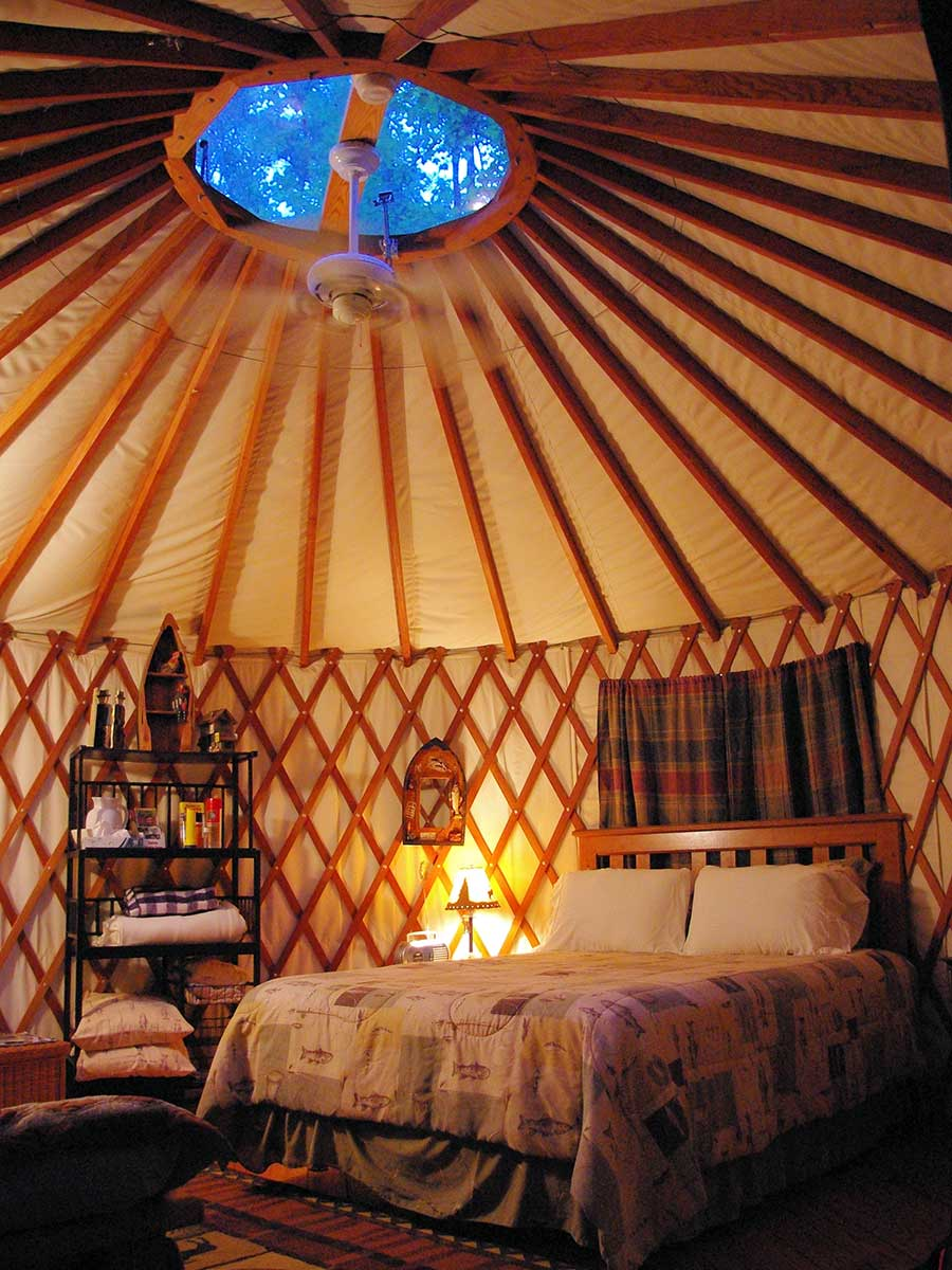 Nantahala Yurts Falling Waters Bryson City Nc They draw on millennia of history, with roots that go back to the medieval khanates of the mongolian steppe. nantahala yurts falling waters
